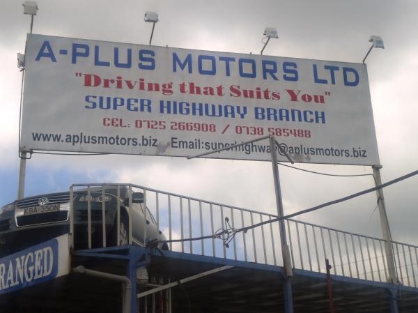 Add a Photo. Company name. A-Plus Motors Ltd. Address. Head Office -Thika SuperHighway ...